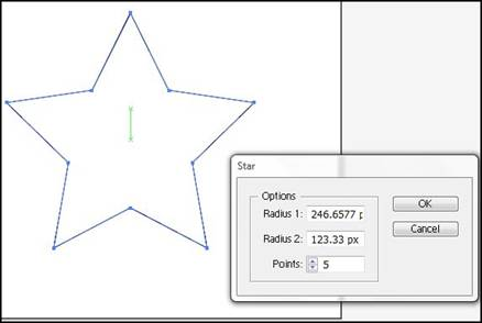 how to draw a perfect star in illustrator